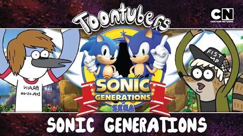 ¡¡Sonic Fitness!! ToonTubers Cartoon Network