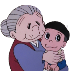 Abuela de Nobita en <a href=