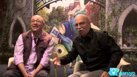 Entrevista Cast de Monsters University. Disney Pixar