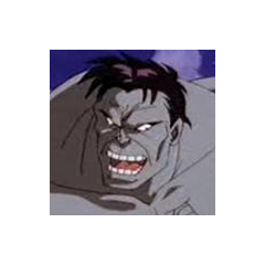Demonio / Hulk Negro también en <a href=