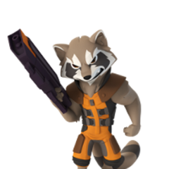 Rocket Raccoon en <a href=