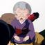 Anciana que viaja con Ryoga