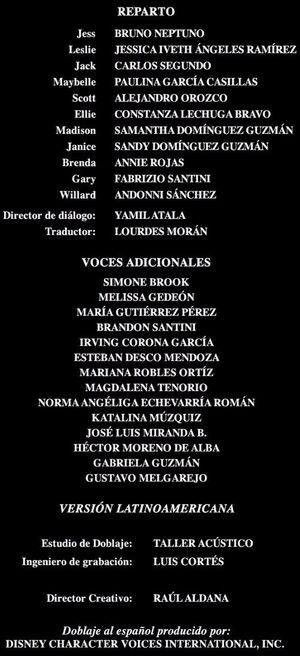 Doblaje Latino de El Mundo Mágico de Terabithia (Disney DVD)