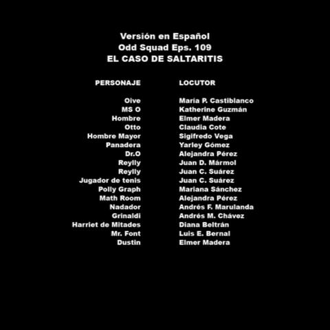 Créditos del doblaje colombiano