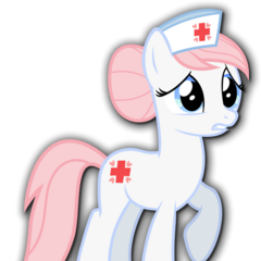 Enfermera Redheart en <a href=