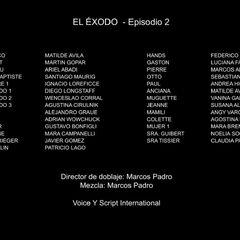 Episodio 2: <i>El éxodo</i>.