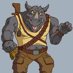 Rocoso el Rinoceronte en la serie clásica de <a href=
