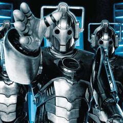 Cybermens en <a href=