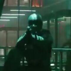 Guardia de la prisión de mutantes en <a href=