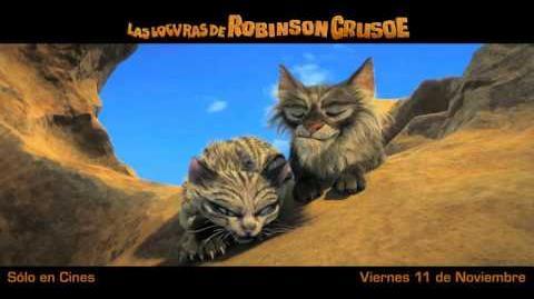 Las Locuras de Robinson Crusoe - Spot Doblado 30s