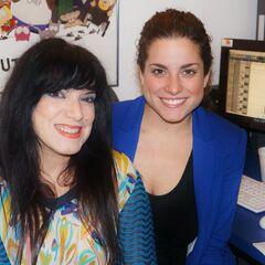 Patricia junto a Isabel Sesma en <i>The Kitchen</i> en las grabaciones de la 4° temporada de <a href=