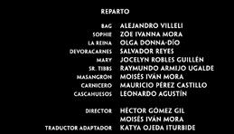 El buen amigo gigante Doblaje Latino Creditos 1