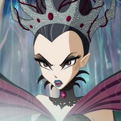La reina del mundo de los sueños (2ª voz), también en <a href=
