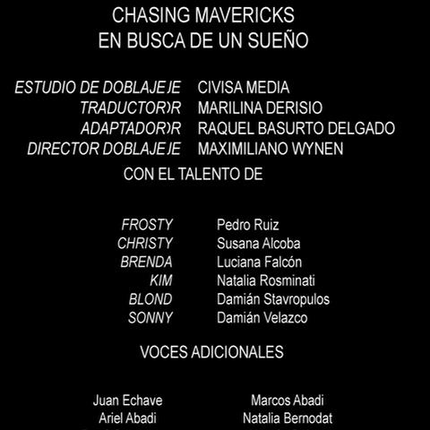 Créditos del DVD (FOX)