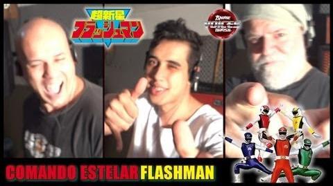 Flashman - Opening Português (BR) - Anime Voices Brasil