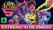 La Liga de los 5 (TRAILER OFICIAL) Ánima ¡10 DE ENERO 2020 EN CINES!
