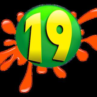 Logotipo anterior de Canal 19 de El Salvador cuando fue Nickelodeon El Salvador (2003-2012)