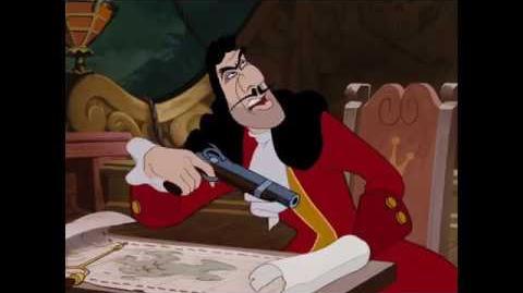 """Capitan Garfio (1 8) español spanish """"Peter Pan""""."""