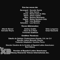 Créditos de Doblaje de la 4ta Temporada
