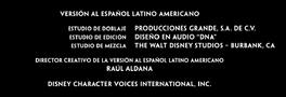 El buen amigo gigante Doblaje Latino Creditos 3