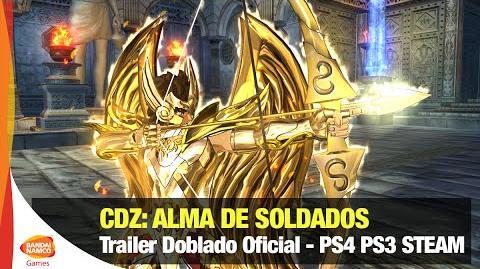 Caballeros del Zodiaco Alma de Soldados - Trailer Doblado Oficial - Bandai Namco Latinoamérica