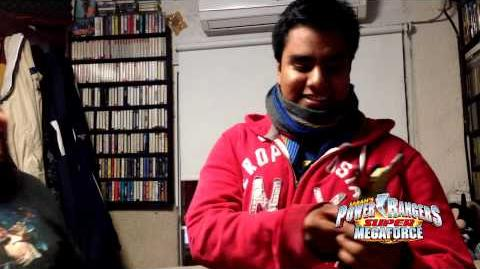 Super Megaforce Inicio de Doblaje Abraham Vega Noah