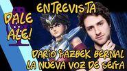 Dale Ale! - Entrevista a Darío Yazbek Bernal, la nueva voz de Seiya