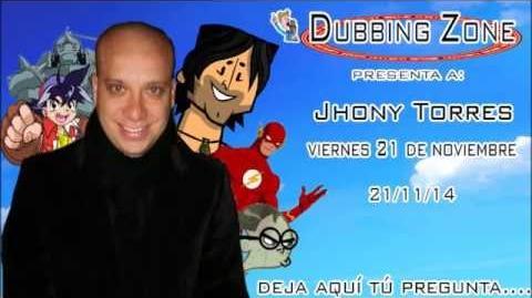 Entrevista a Jhonny Torres en Dubbing Zone