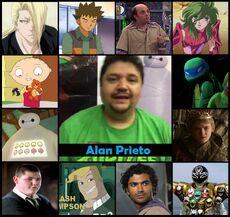 Homenaje a Alan Prieto