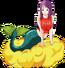 Sirena dragon ball by luigicuau10-d7bwbnb