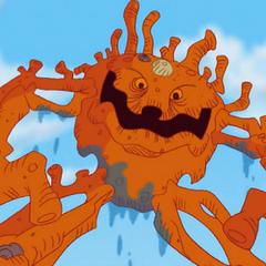 La Criatura de Coral en <a href=