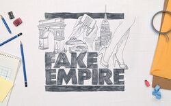 Fake Empire Gossip Girl logo