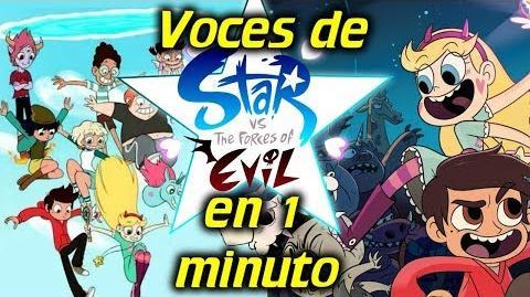 Voces de Star vs las Fuerzas del Mal en 1 minuto- -27