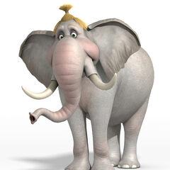 Angie, la elefante en <a href=