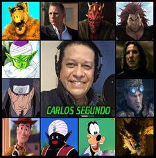 Carlos Segundo-doblaje