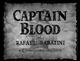 El capitan Blood- Presentación