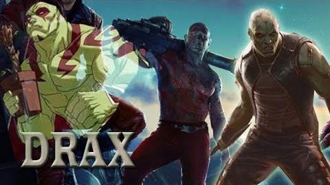 Guardianes de la galaxia (2014) Conoce a Drax Spot Doblado