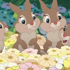 Hermanas en Bambi en <a href=