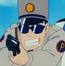 Policía 1 que persigue a Lunch