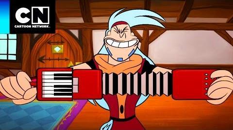 Rarooooo ♫ Magiespadas Cartoon Network