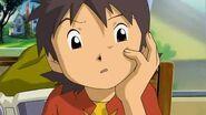 Takuya recibe un mensaje de Ophanimon - Latino