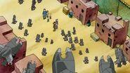 Takuya y sus amigos descubren la aldea donde viven los kokuwamon - Latino