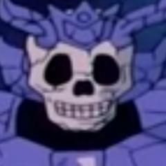 Caballeros esqueleto de Jamir (líder) también en <a href=