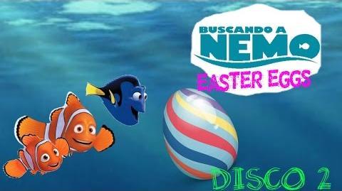 Easter Eggs Disco 2 Del DVD Buscando a Nemo