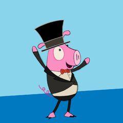Cerdo en Peg + Gato.