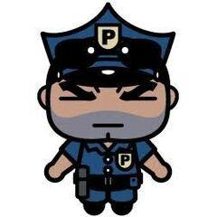 El Oficial Bruce en <a href=