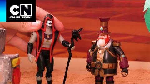 HEX Y SMYTHE UNIDOS Ben 10 Cartoon Network