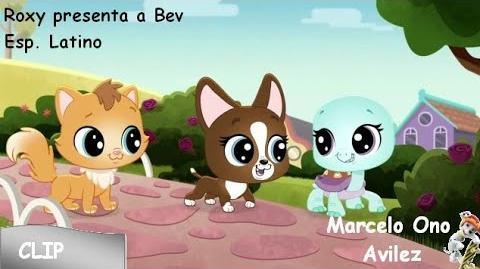 Littlest Pet Shop Un Mundo de Mascotas - Roxy presenta a Bev Clip (Español Latino)