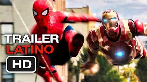 Trailer en Español LATINO - Spider-Man- De Regreso a Casa (HD) Los Vengadores 3