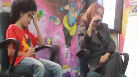 Entrevista de Rocío Mallo en Caracas Cómic Con abril 2017